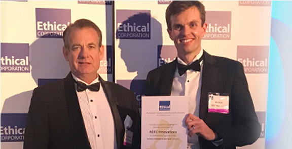 ADEC Innovations named as Solution Provider of the Year finalist at the 2017 Responsible Business Awards in London