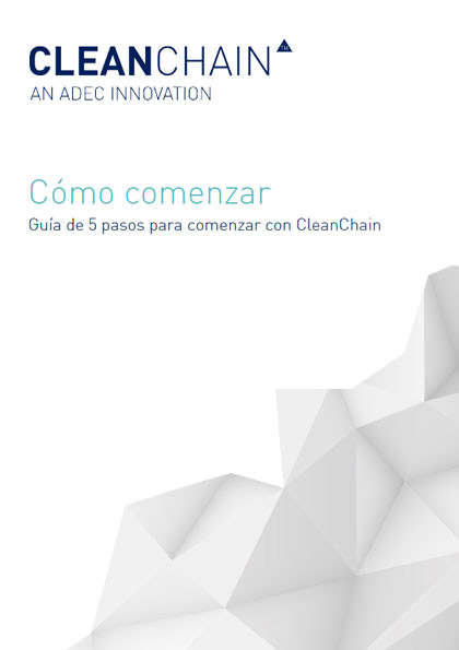 5 Step Guide to Getting Started with CleanChain (Español)