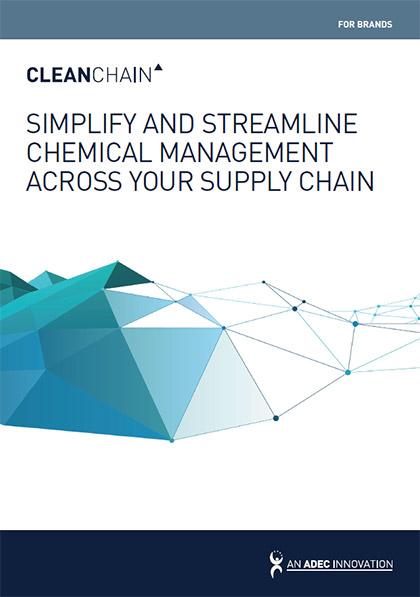 简化您供应链化学品的管理