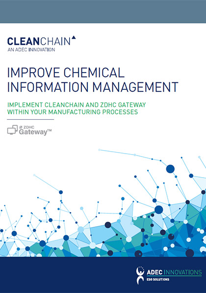 CleanChain/ZDHC Improve Chemical Information Management