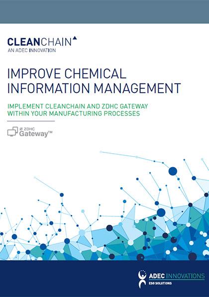 CleanChain/ZDHC——改进化学品信息管理