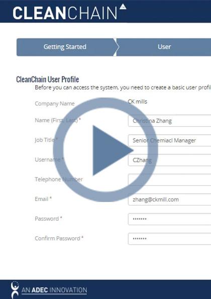 如何在CleanChain进行注册